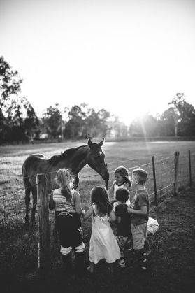 KIDS AND HORSES PIC