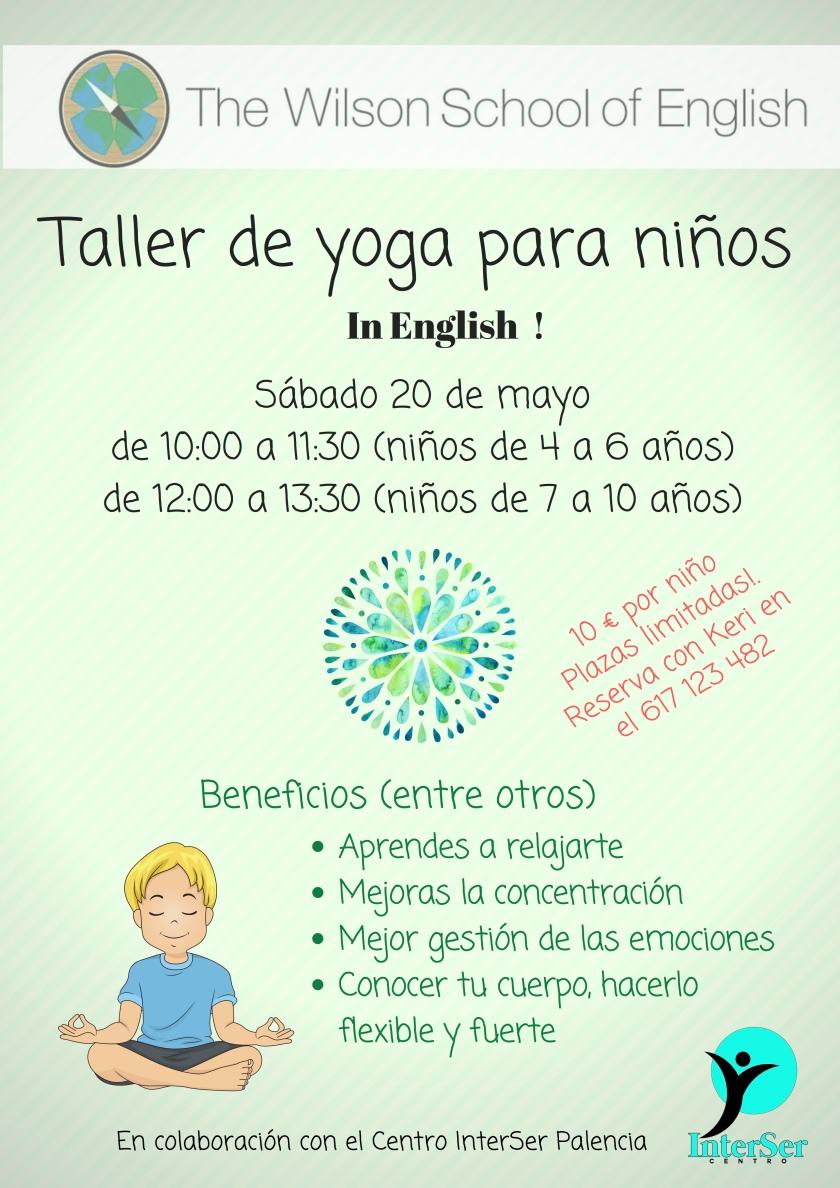 Taller de yoga para niños-Wilson