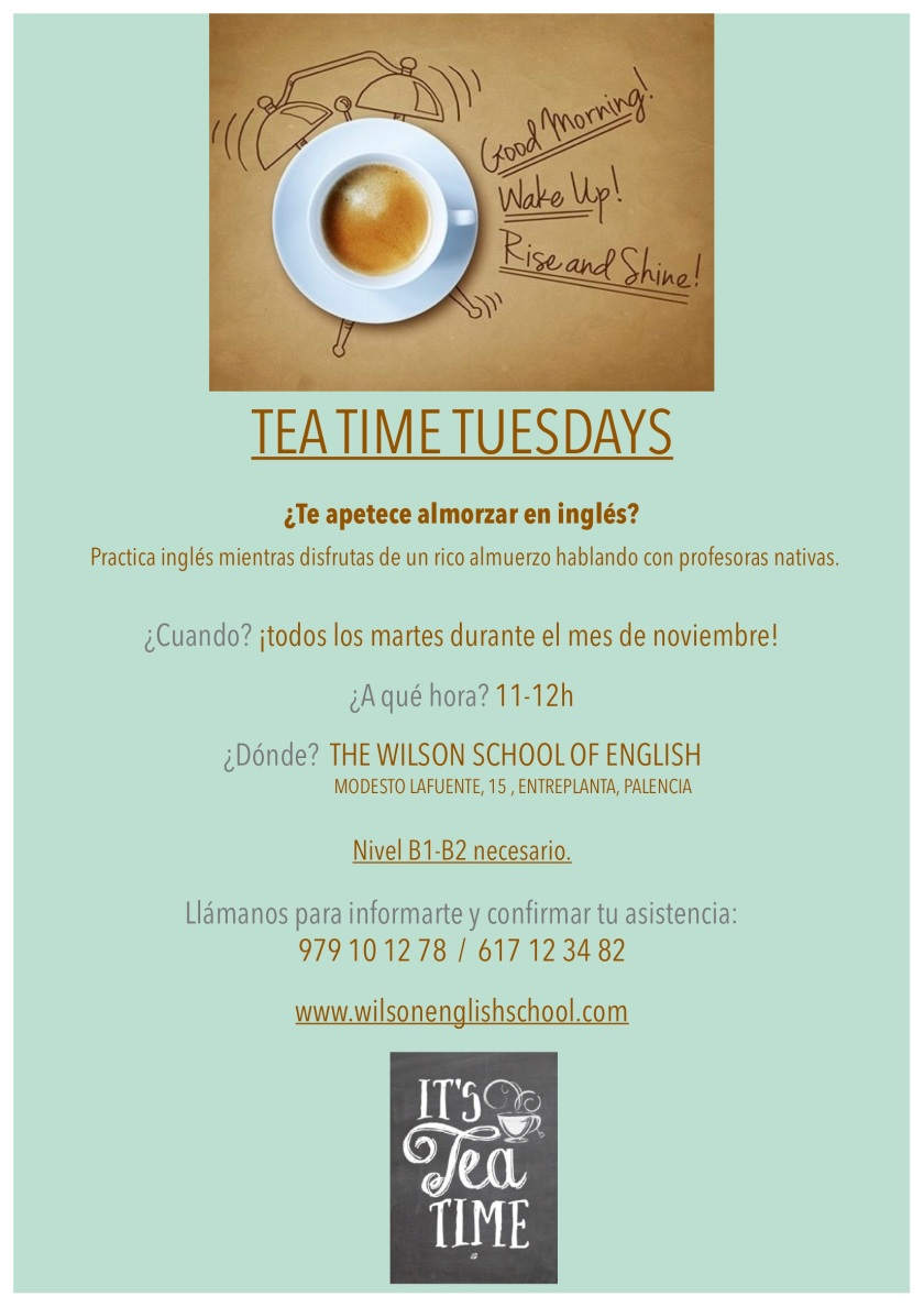 TEATIME TUESDAYS