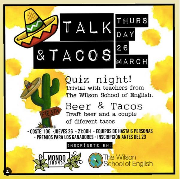 Talk & Tacos